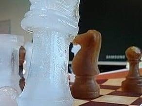 ice cube chess set