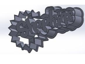 Logo shopkins cookie cutter