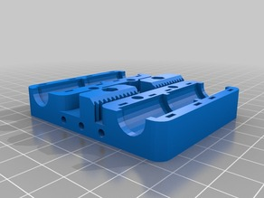 Prusa i3 Rework X-carriage compatible with Zonestar