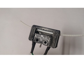 Filament run out sensor/switch