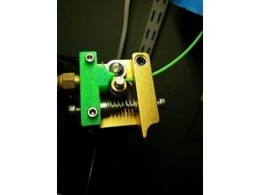 MK8 Extruder Flexible Filament Guide.