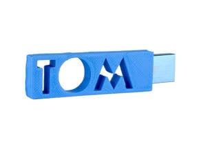 TOM personalised USB Case