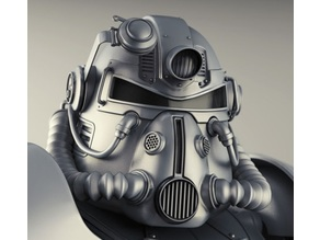 Fallout 76 T-51 Helmet