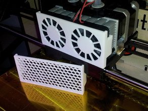 Replicator Extruder Fan Guard