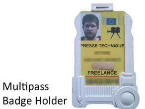 Multipass Badge Holder, the 5th element
