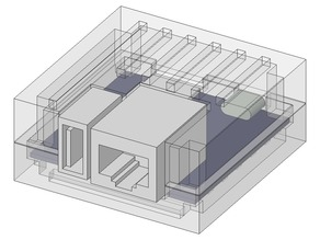 simple NanoPi Neo case.