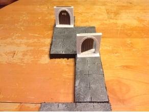 DungeonDoor - Tabletop RPG - Miniature Terrain