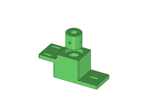 Lead screw bearing holder