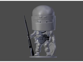 Rainbow Six Siege Tachanka Chibi Figurine