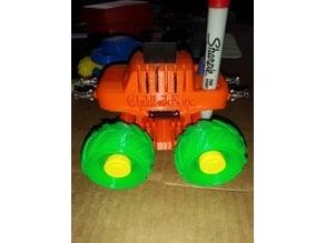 Monster Truck (Holder) Micro SD/Pen/Thumb Tack/Micro SD Adapter