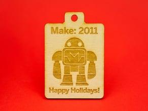 MAKE Holiday Robot