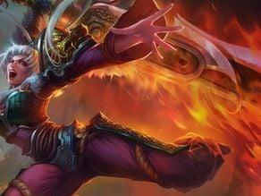 Dragonblade Riven Sword