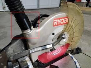 Ryobi Miter Saw (TS1340) to ShopVac vacuum adapter