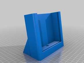"""Litho-Frame"" - Lithophane Enclosed Frame 100x100 1 Sided"