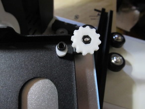 Bed level wheel for GEEETECH E180