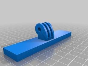 Binder Clip Go Pro Camera Mount for 3D printer Bed