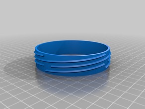 Jar Lid and Mouth, parametric freecad files