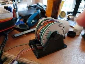 Customisable Parametric Wire Spool Holder
