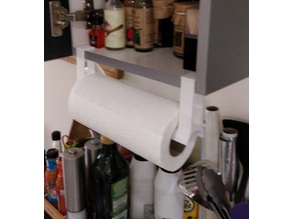 Kitchen Roll Holder 15mm cabinet