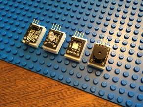 Lego mount for SunFounder's sensor kit