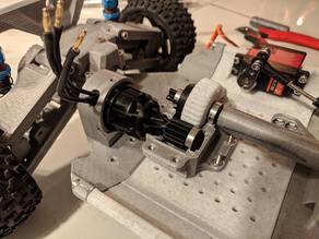 3D Printed RC Car V3 -- Tarmo3 -- Drivetrain [3/3]