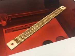 Laser Cut Bracelets