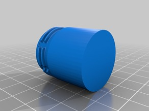 protective tube with standard bottle thread