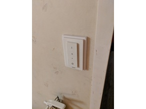 Hue light switch mount