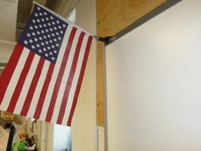 Flag holder for SMART board