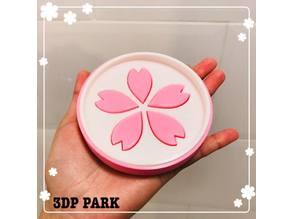 SAKURA Soap Box and Coaster