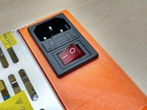 12v 20a PSU Cover Power Supply Protection  (Abdeckung für Netzteil)