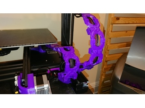 A Slightly Ridiculous Cable Chain Ender 3 and others