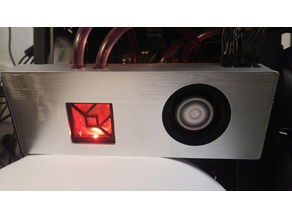 AMD Vega 64 custom shroud and water cooling bracket