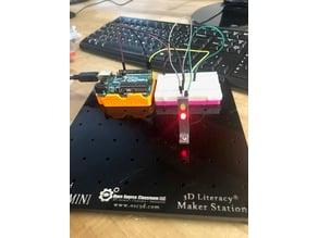 3DX 2 blinking LED's