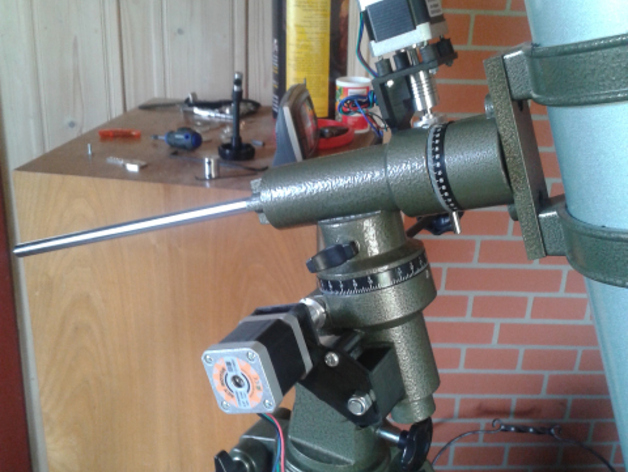 Equatorial telescope mount drive  by HSB - Thingiverse