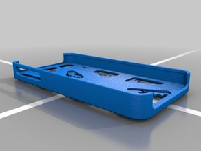 Geared iphone 4 case assembly