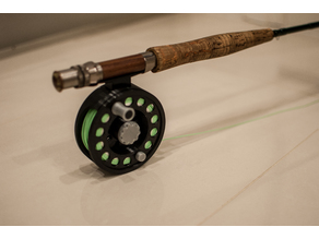 Realistic Fly Fishing Reel