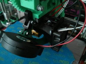 Fan Duct for Prusa i3 Rework jhead/e3d