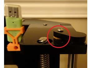 Anet A6 Z Guide Rod Washer