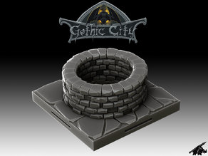 Gothic City Well (JOIN our PATREONs)