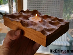 Firewater : Votive candle holder
