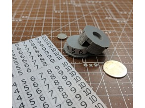 HP Dial for Miniatures - Bricks