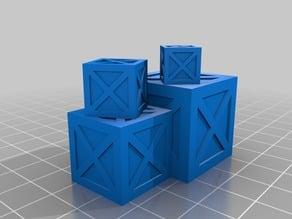 Crate Stacks=1, Crate Stacks=2, Crate Stacks=3