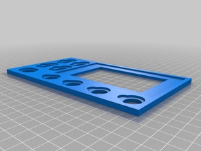 Armada Card tray split into two parts
