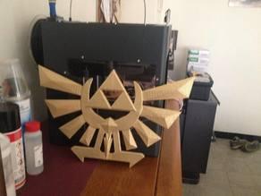 Zelda crest wallhang