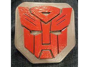Autobots Wearable Badge