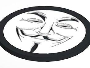 Guy Fawkes Coaster (Dual)