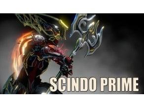 Warframe Scindo Prime Axe