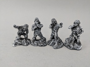 28mm Petrified Victims