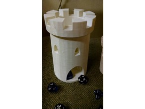 Spiral Staircase Dice Tower